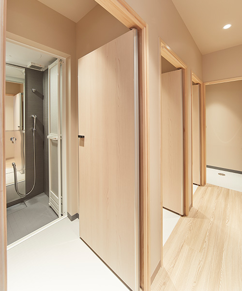 3F Men's Shower room